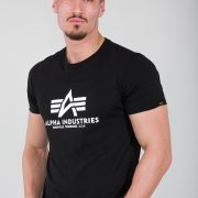 Alpha Basic Tee Black (2)