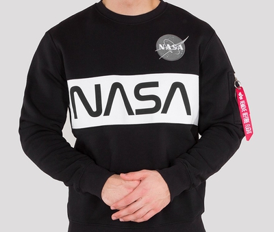 Alpha Industries Nasa Inlay Sweatshirt
