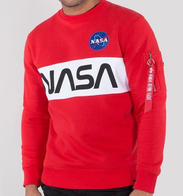 Alpha Industries Nasa Inlay Sweatshirt