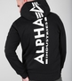 Alpha Industries Back Print Kapuzen Sweatshirt