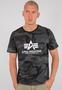 Alpha Industries Balck Camo T-Shirt